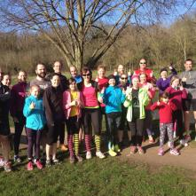 Arrow Valley parkrun on tour at Evesham's first event