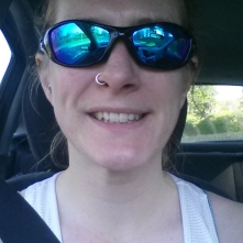 On the way home from a very sunny parkrun :-)