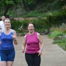 Walsall Arboretum parkrun (my #3, Becky's #4) (Photo © Richard Gallois)
