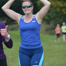 Mobotting at Perry Hall parkrun (#2 for me) (Photo © Richard Gallois)