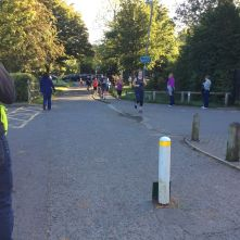 Me, end of lap 1 (Photo by Darren Mansell (well, actually Ellie, aged 8)